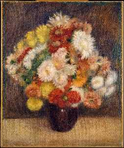 Bouquet of Chrysanthemums (1881)