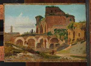 The Basilica of Constantine, Rome (1821)