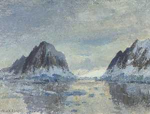 Sea Passage between Two Rocks, (1957)