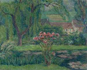 Giverny, Roses and Waterlilies