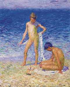 Boys on the Beach, Belle-Ile