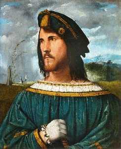 Portrait of Gentleman aka Cesare Borgia.