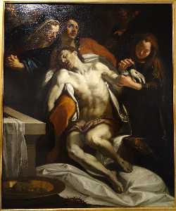 Exhibit in the Accademia Ligustica di Belle Arti, Genoa, Italy.