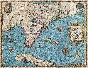 The recent description of the Province and the author of America Florida, James Le Moyne who was nicknamed de Morgues & Exactissima
