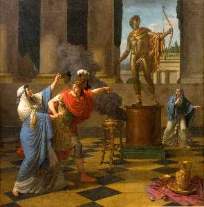 Alexander Consulting the Oracle of Apollo
