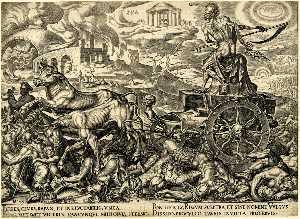 Dood van de Triomphe, burning