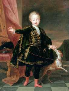 の肖像画 レオポルド クレメント デ ロレーヌ , 遺伝性の 王子 の ロレーヌ