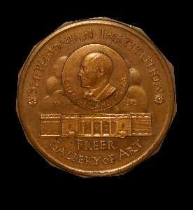 Charles Lang Freer Medal (obverse)