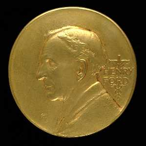 Ford Motor Company Medal (obverse)