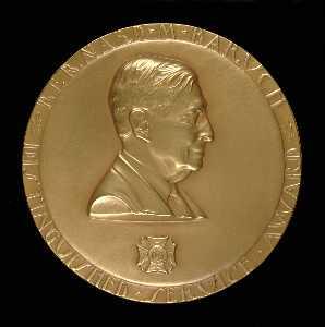 Bernard M. Baruch Distinguished Service Award (obverse)