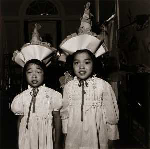 Korean Children at Graduation Exercises, Sister Servants of Mary Immaculate Pre School, from the East Baltimore Documentary Survey Project