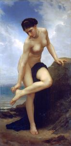 After the bath 1875