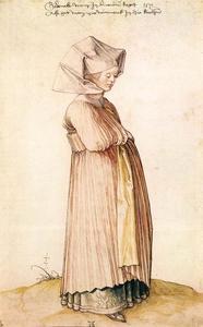 Nürnberg Frau für Kirche Dressed