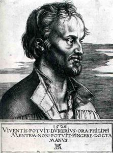 portrait De Philippe Melanchton, berlin Smpk
