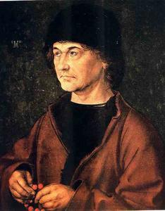 portrait De Son Pere, florence Uffizzi