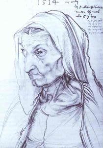 Portrait of Durer's Mother