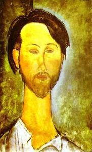 Portrait of the Polish Poet and Art Dealer Leopold Zborovski