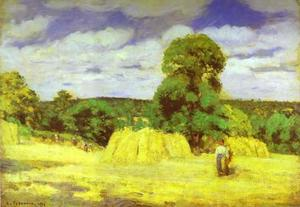 Harvest at Montgoucault