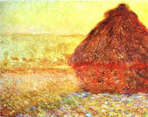 Haystack at the Sunset near Giverny