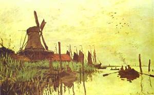 Mill near Zaandam