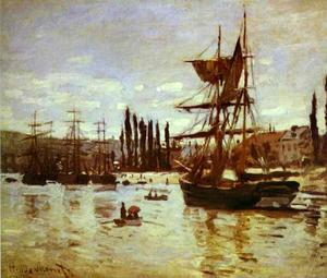 Ships at Rouen
