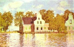 The House on the River Zaan in Zaandam