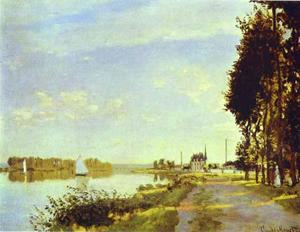 The Riverside Path at Argenteuil