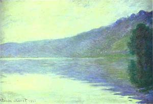 The Seine at Port-Villez. The Harmony in Blue
