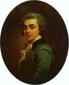 Portrait of Nikolay Lvov, Architect, Painter and Poet