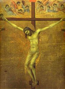 MaestÓ (back, central panel), The Crucifixion