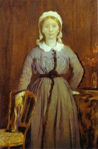Portrait of Thérèse de Gas, the Artist's Sister