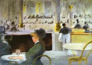 Interior of a Café