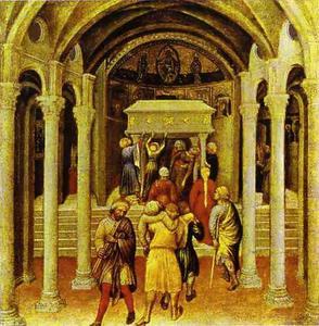 Gentile da Fabriano - A Miracle of St. Nicholas
