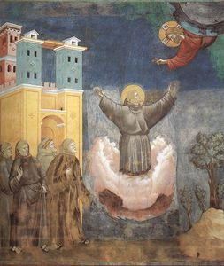 Legend of St Francis - [12] - Ecstasy of St Francis