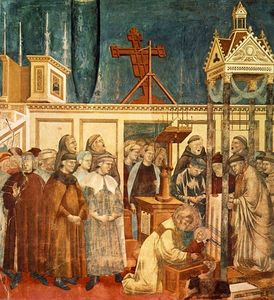 Legend of St Francis - [13] - Institution of the Crib at Greccio