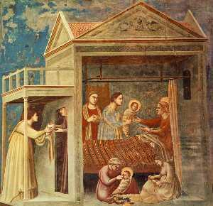 Scrovegni - [07] - The Birth of the Virgin
