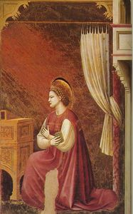 Scrovegni - [15] - The Virgin Receiving the Message