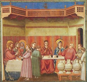 Scrovegni - [24] - Marriage at Cana