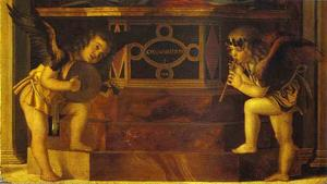 Frari Triptych. Musical Angels