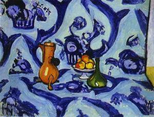 Blue Table-Cloth