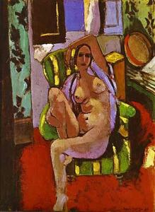Nude Sitting in an Armchair