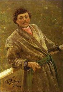A Belorussian. Portrait of Sidor Shavrov