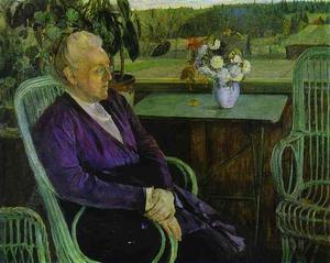 ソフィアTutchevaの肖像