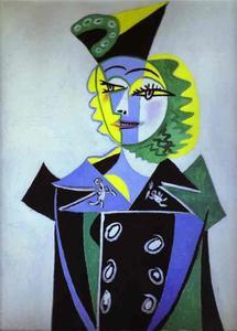 Portrait of Nusche Eluard