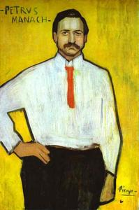 Portrait of the Art Dealer Pedro Manach