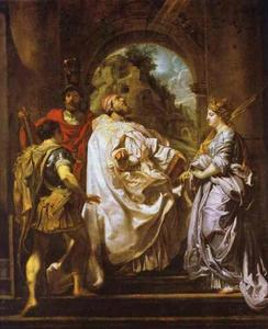 St. Gregory, St. Maurus, St. Papianus and St. Domitilla