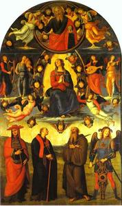 The Assumption of the Virgin with Saints