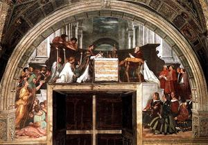 Stanze Vaticane - The Mass at Bolsena