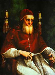 Portrait of Pope Julius II