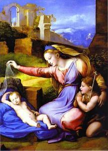 The Virgin with the Veil